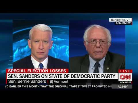 "Bernie Sanders: ""Democratic Brand Is Pretty Bad"""