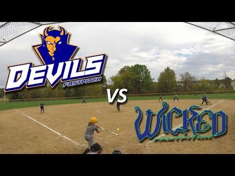 Devils Fastpitch Vs Wicked Fastpitch 16u/18u Fastpitch Softball Game
