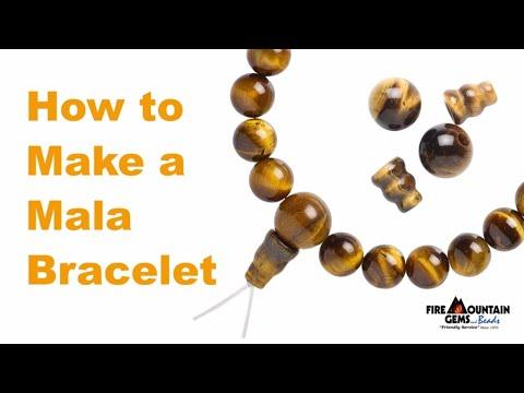 How To Make A Mala Bracelet