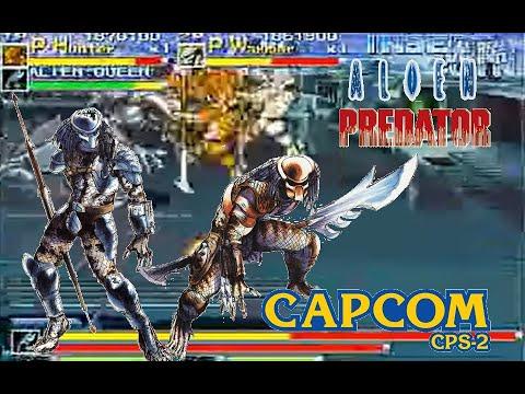 Alien Vs Predator Arcade hardest Predator Warrior and Hunter no death Playthrough