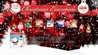 The Andrews Sisters - Let It Snow! Let It Snow! Let It Snow! // Christmas Essentials