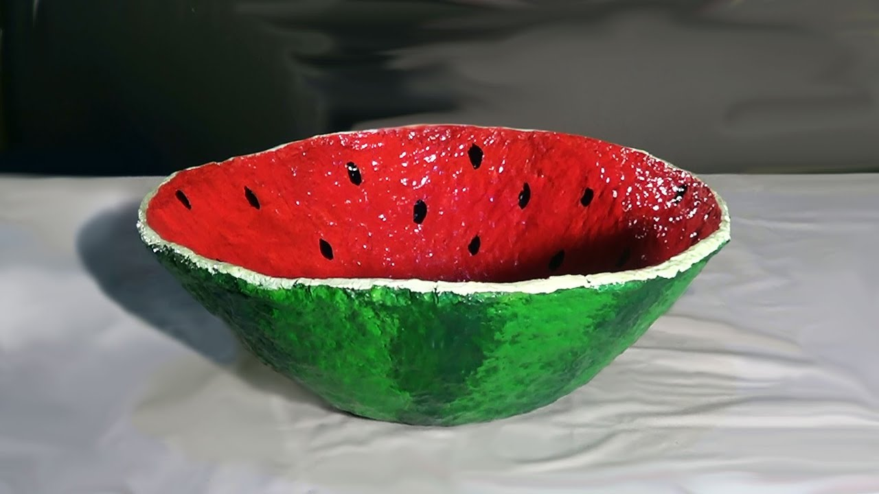 fruteira de papel mach fruit bowl of paper mache. Black Bedroom Furniture Sets. Home Design Ideas
