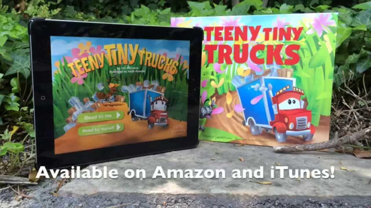 Tiny Trucks Teeny Tiny Trucks Book App Trailer Youtube