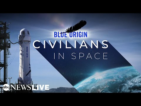 Watch Live: Jeff Bezos launches into space on Blue Origin's first human spaceflight