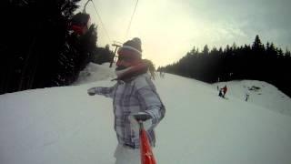 Amanda snowboarden