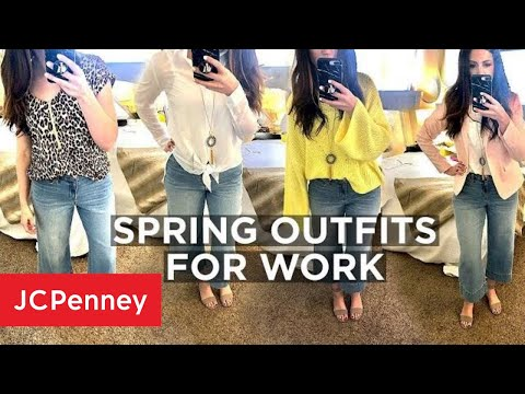 Spring Lookbook   Work Outfit Ideas   JCPenney