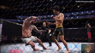 Bruce Lee vs. CM Punk | EA Sports UFC 3 Notorious Edition | Fantasy Fight Simulation