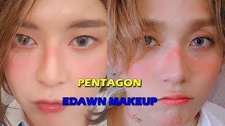 펜타곤 이던 빛나리 커버메이크업 PENTAGON EDAWN shine cover makeup アイドルカバーメイク。kpop idol 화장 아이돌 뷰티크리에이터 글리 GLEE
