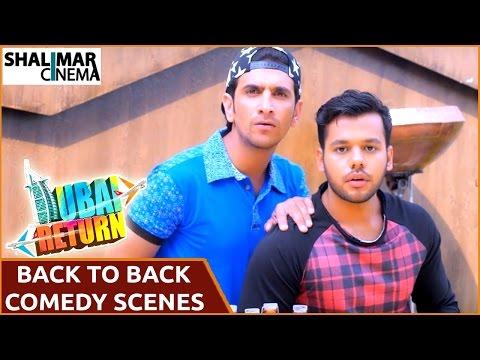 Dubai Return Hyderabadi Comedy Movie  Sharukh k Adnan Back to Back Hilarious Comedy s