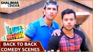 Dubai Return Hyderabadi Comedy Movie || Sharukh k Adnan Back to Back Hilarious Comedy Scenes