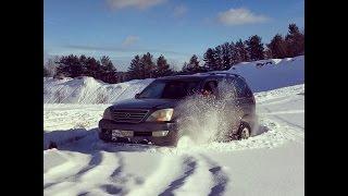OffRoad на Lexus GX470! Андрюха в конце отжигает!!! Зима 2017