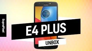 Unboxing Moto E4 Plus