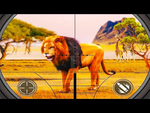 Lion Hunting ▶️Best Android Games GamePlay 1080p(by ANDROID PIXELS )