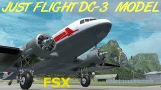 Just Flight DC-3 Model FSX HD