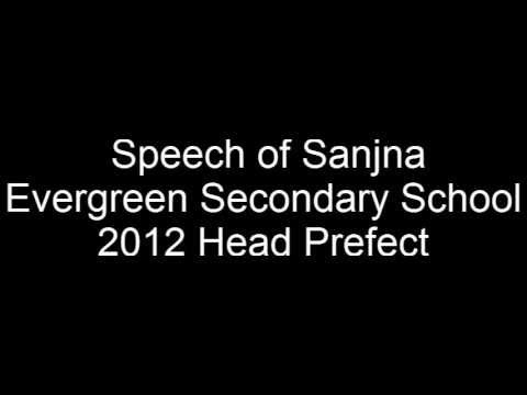 speech for election of school prefect How to write a speech for school elections yes, there are school election speech templates on the internet that let you just paste in your name, etc, but a speech written by you, that represents you, holds a much better chance of making an impact on your classmates/voters.