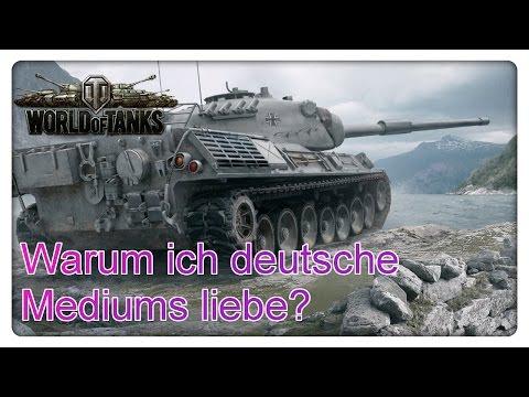 World of Tanks: Warum ich deutsche Mediums liebe?