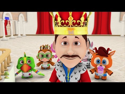 Изобрежения Old King Cole | Kindergarten Nursery Rhymes & Songs for Kids | Little Treehouse S03E9