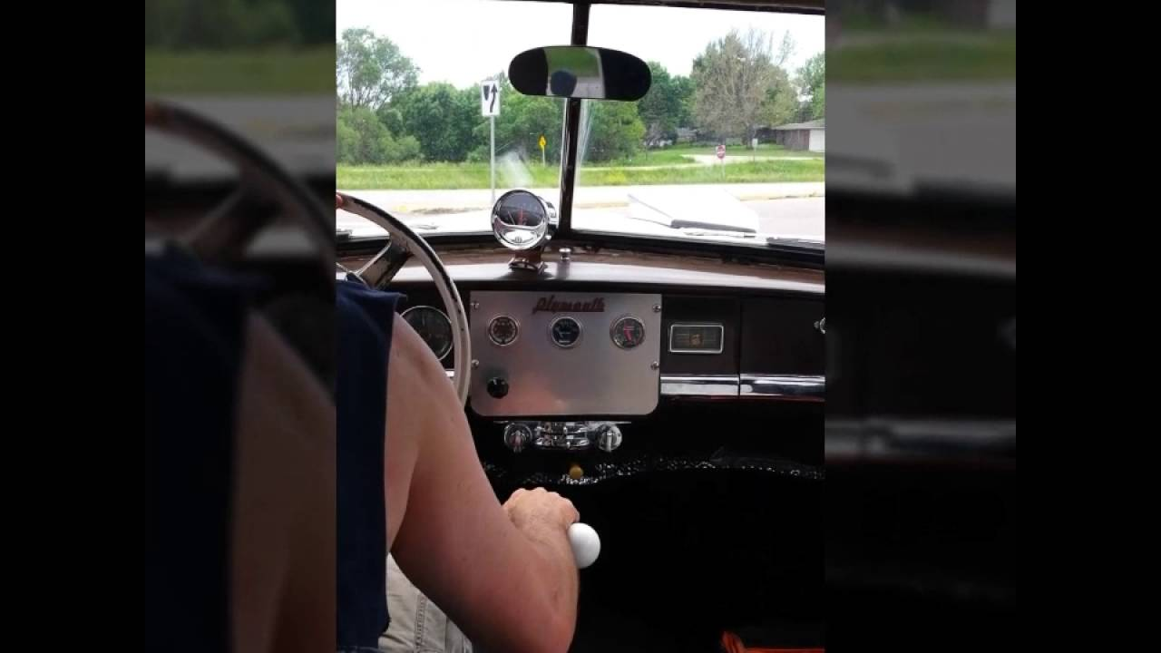 Driving a Twin-stick Plymouth