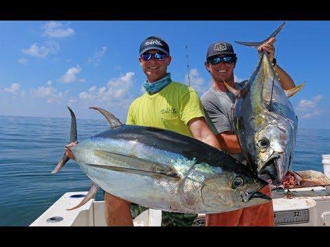 FISHING For Redfish And Tuna In Louisiana