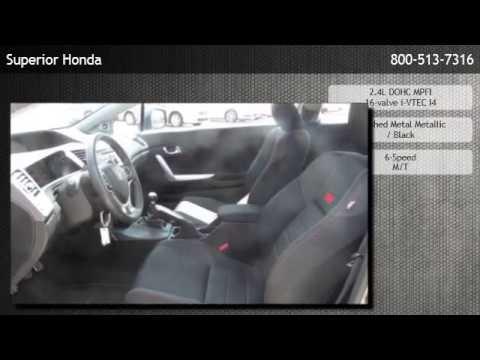2012 Honda Civic Si Manual Coupe - Kenner