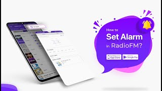 How to set Alarm in RadioFM?