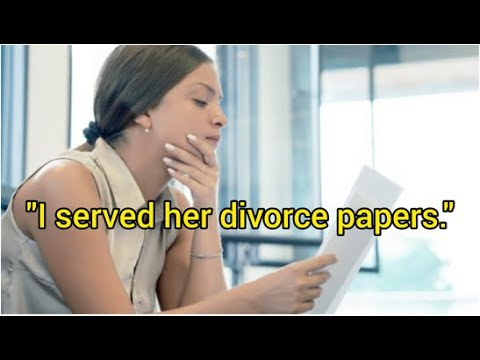 Surprised Cheating Wife Blindsided With Divorce & Evidence