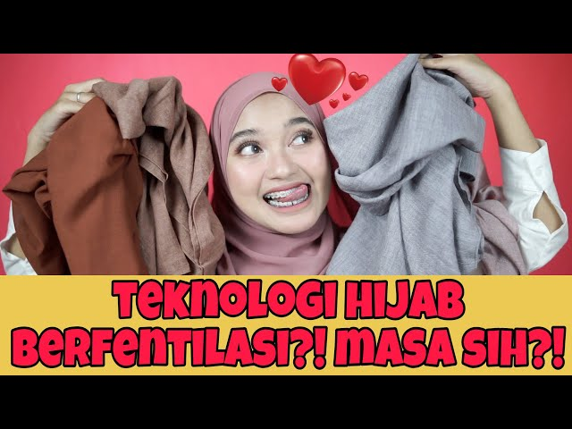 BAHAN HIJAB FAVORIT + TUTORIAL DAN GIVE AWAY YAAAY!!! | Indira Kalistha