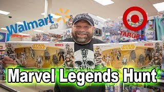 Marvel Legends Hunt | Target and Walmart