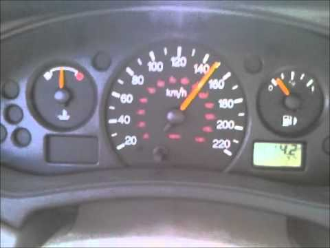 2002 Ford Focus Jumpy Speedometer Youtube