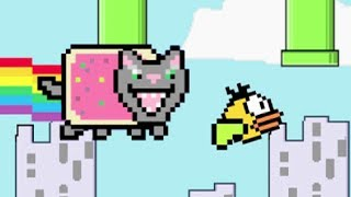 8-bit Tom Cat VS Annoying Floppy Bird