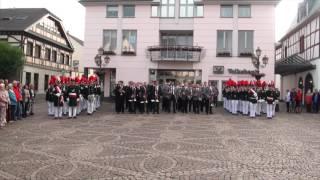 Schützenfest 2016 - Platzkonzert auf dem Ahrweiler Marktplatz