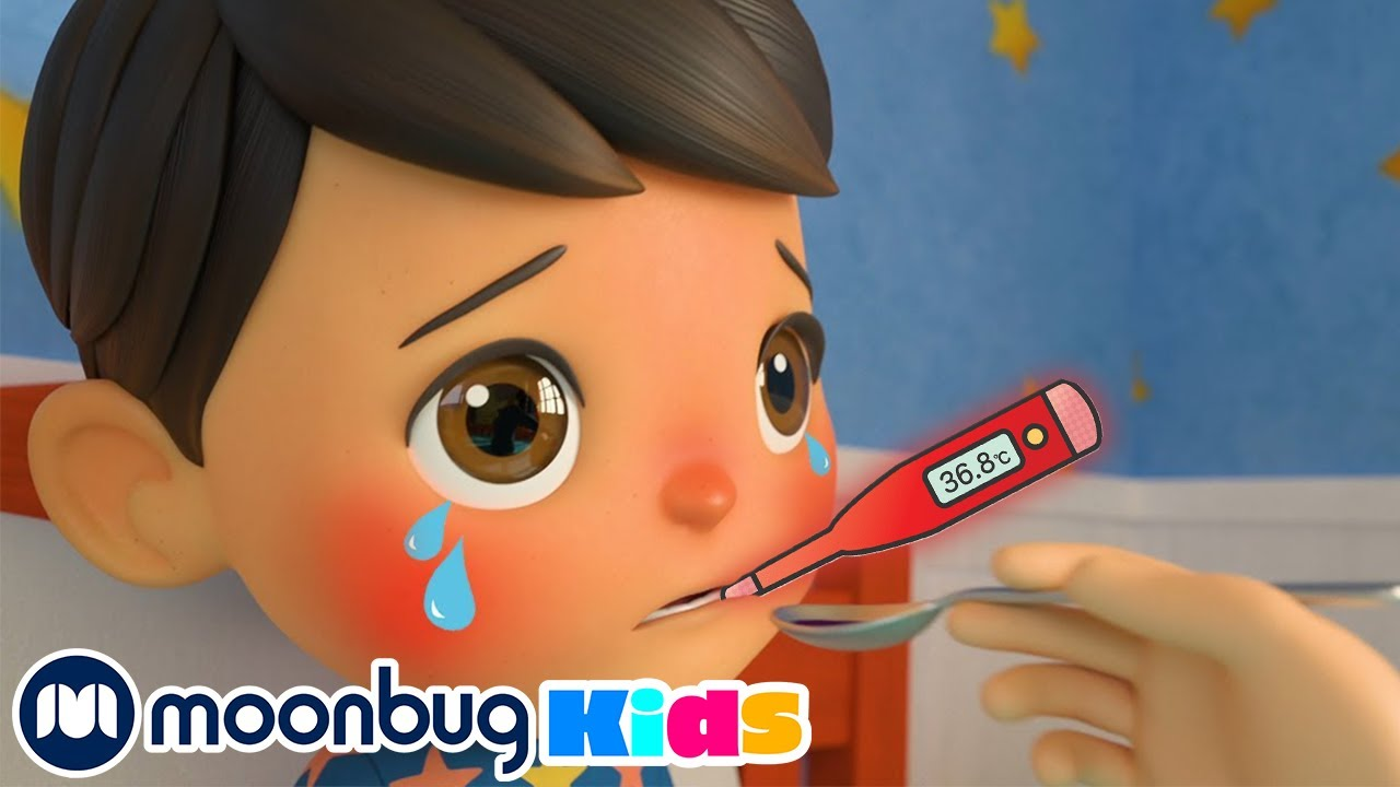Sick Song - Taking Medicine! | Learn with Little Baby Bum Nursery Rhymes | ABCs 123s