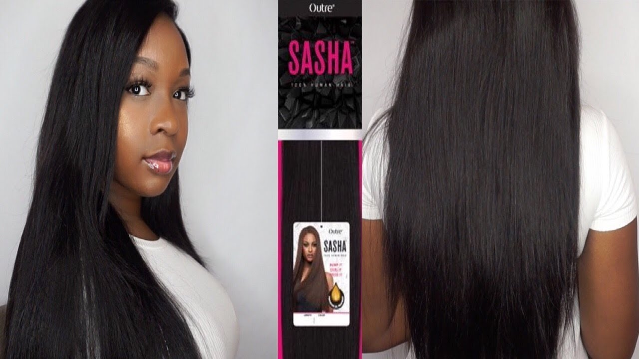 Outre Sasha Yaki Human Hair Collection I Review Curl Test I
