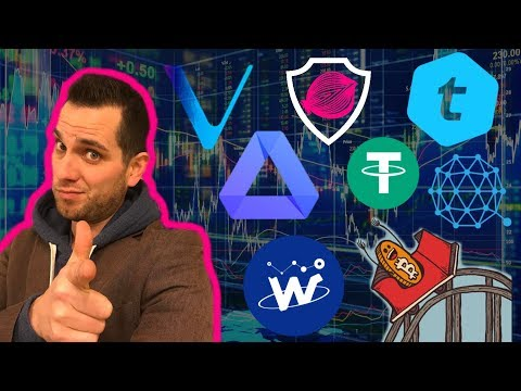 Crypto Update: FUD/Conspiracies | How To Spot Good Entry Points | VEN ONION USDT QTUM ACT WTC TEL