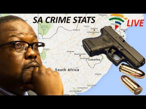 Minister Nhleko Releases SA Crime Stats : 29 September 2015