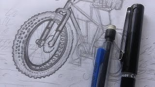 You like fat bikes? Draw some.