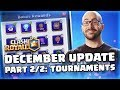 Clash Royale: December Update Reveal Part 2/2! (TV Royale)