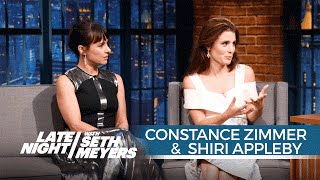 Constance Zimmer and Shiri Appleby on The Bachelorette Borrowing from UnREAL