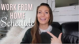 HOW I SCHEDULE MY DAYS as a Work From Home Mom 2019 // The Block Schedule System