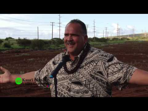 Blessing and groundbreaking held for $40 million Kauaʻi solar project