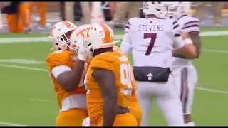 Tennessee Football | MSSTvsTENN Highlights