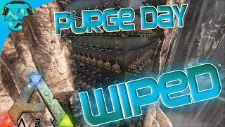 Ragnarok E13 Purge Day Raiding - Wiping the Alpha Tribe! ARK: Survival Evolved PVP