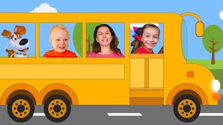 Wheels on the bus Song for Children by Sunny Kids Songs