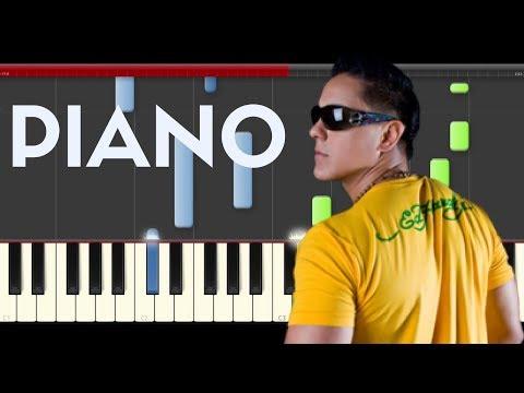 Joey Montana Picky  piano midi tutorial sheet partitura cover