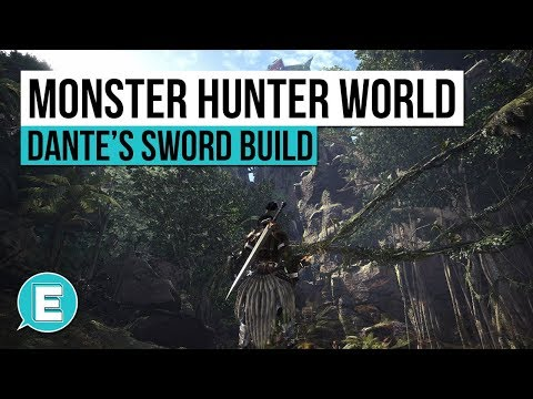 Monster Hunter World | Devil May Cry Charge Blade Build