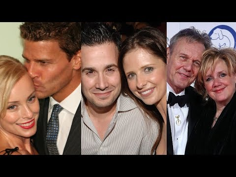 Buffy the Vampire Slayer ... and their real life partners