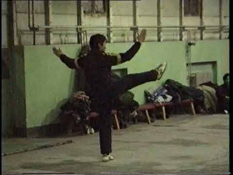 Wushu in Beijing December 1990