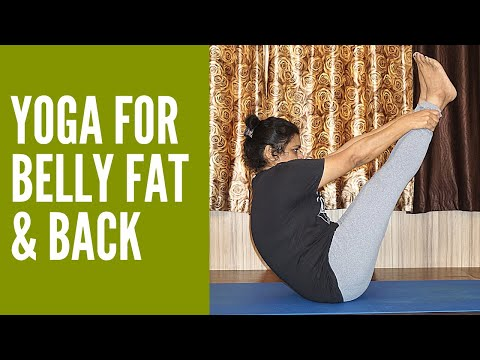 Simple Yoga Exercises To Reduce Belly Fat Fast Yoga Poses For Flat Stomach Weight Loss Youtube