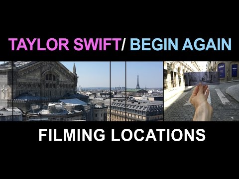 Begin Again - Taylor Swift Filming Locations, Paris