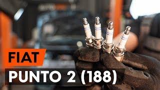 Hvordan bytte Glødelampe Nummerskiltlys FIAT PUNTO (188) - online gratis video